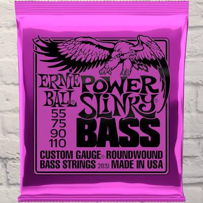 Ernie Ball EB2831 Power Slinky Heavy 4 Bass Strings 55-110