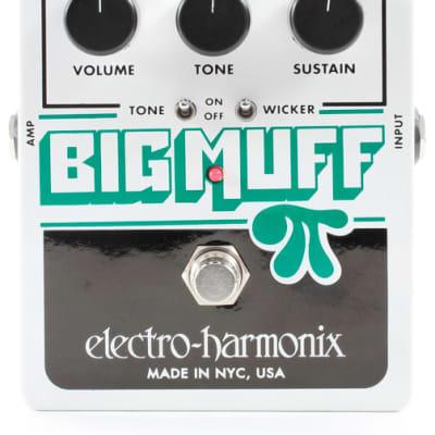 Electro Harmonix Big Muff Pi with Tone Wicker Fuzz Pedal for sale