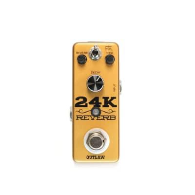 Outlaw 24K Reverb Guitar Pedal