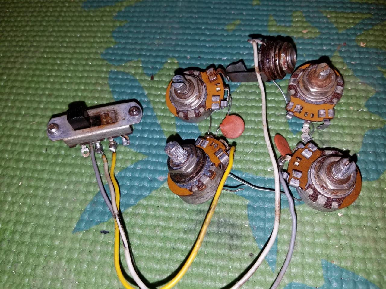 gibson melody maker wiring diagram vintage gibson melody maker or firebird non reverse wiring ... kitchenaid coffee maker wiring diagram