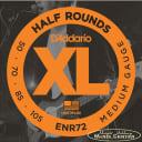 D'Addario Half Round  Medium Gauge Long Scale Electric Bass Strings 50-105