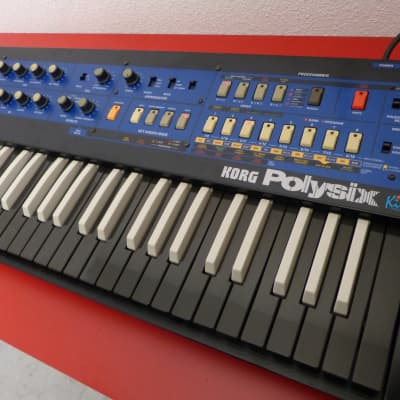 Korg Polysix Kiwisix DeLuxe custom 'Black Widow' - Analog Polyphonic Synth