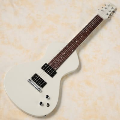 Asher Guitars Electro Hawaiian Junior Antique White for sale