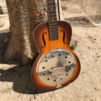vintage Regal radio tone resonator guitar 1940s for sale