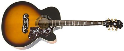 epiphone ej 200sce acoustic electric guitar vintage reverb. Black Bedroom Furniture Sets. Home Design Ideas