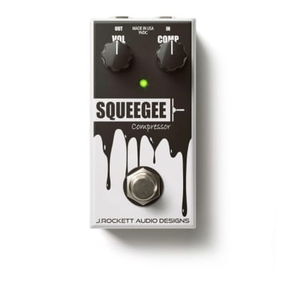J. Rockett Squeegee Compressor (Jet Series), latest White finish