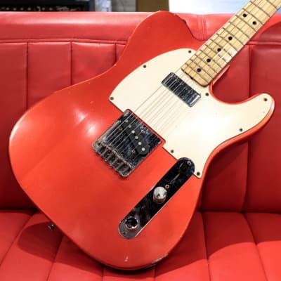 Fender 1974 Telecaster Refinish Candy Apple Red Mini Hum 03/20