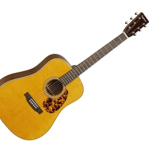 Tanglewood TW40-D-AN-E Sundance Historic Solid Spruce/Mahogany Dreadnought with Electronics Natural Gloss