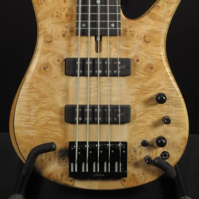 Fodera Monarch V Standard Special Maple Burl for sale