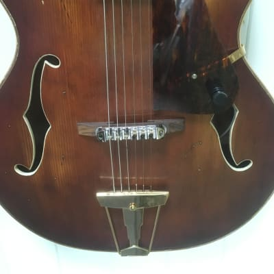 Michael Kelly Nostalgia Archtop  1990's Aged tobacco for sale