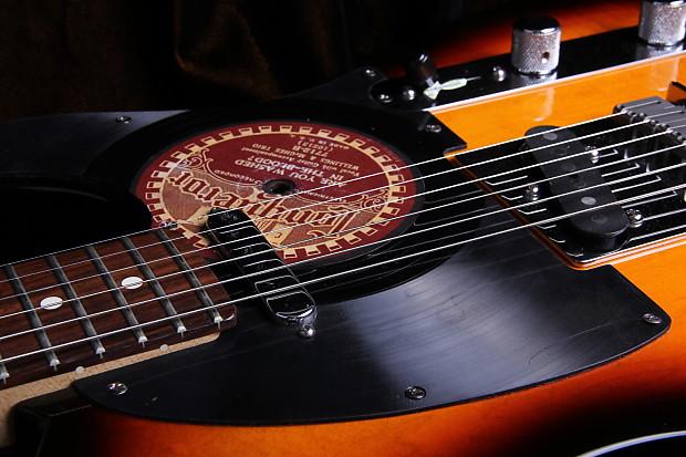 Music City Pickers Custom Vinyl Record Pickguard Reverb