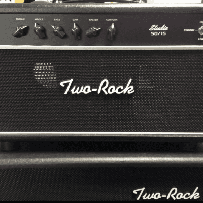 Two Rock  Studio 50/15 Amp w/ Custom TS1 Front End / Krinard Collection Handmade Dumble, NOS