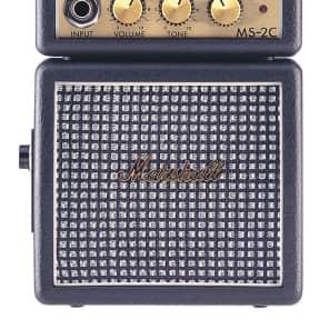 Marshall MS-2C 1W Battery-Powered Classic Micro Guitar Amp