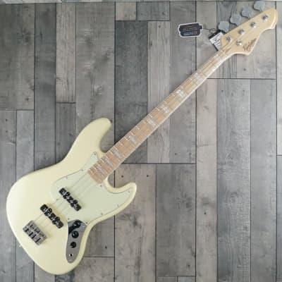Revelation RBJ 67 Bass Guitar, Vintage White for sale