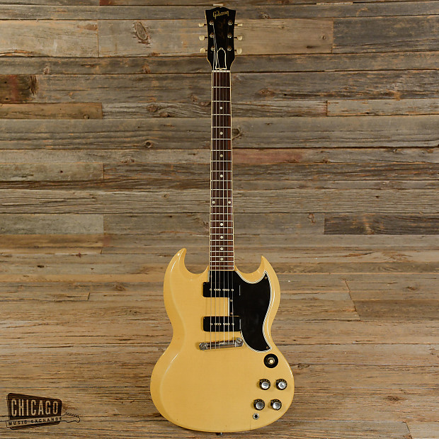 gibson les paul sg special tv yellow 1961 s757 reverb. Black Bedroom Furniture Sets. Home Design Ideas