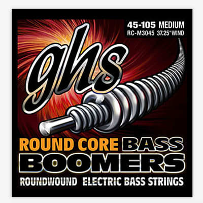 GHS Bass Boomers Long Scale Plus M3045X 45-105