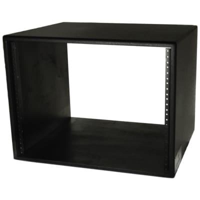 Grundorf Studio Series Short Rack Shell, Black, 8-Space