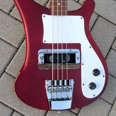 Rickenbacker 4000 Bass 1973 Burgundyglo for sale