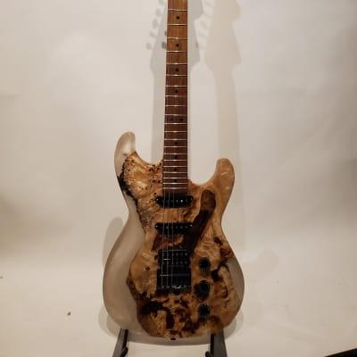 "Island Grove Guitars White ""S"" Type Electric Guitar"