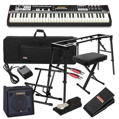 Hammond SK1 Portable Organ COMPLETE STAGE BUNDLE