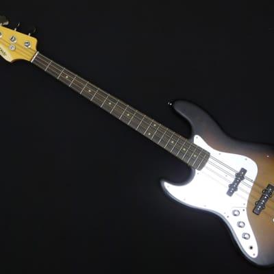 2015 Edwards by ESP Japan Jazz Bass Lacquer Tasted Series Lefty E-JB-93RLT/LH Sunburst for sale