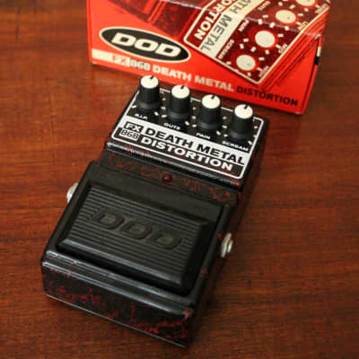 DOD Death Metal Distortion FX86B with box, paperwork for sale