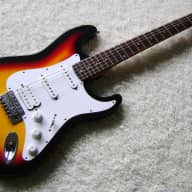 Crate Stratocaster HSS Early 1990s Sunburst (Brand New Strings) for sale