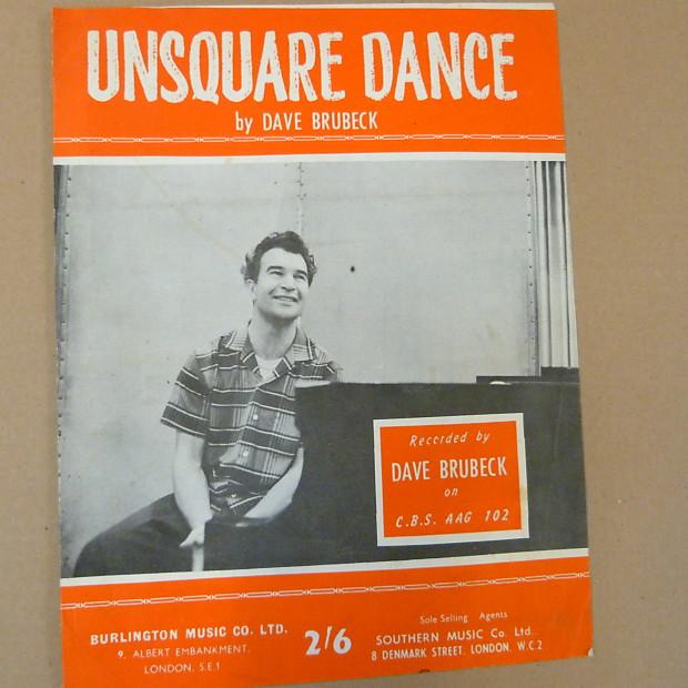 DAVE BRUBECK UNSQUARE DANCE PDF