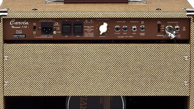 carv048 CARVIN NOMAD 1x12 50 WATT COMBO AMP BROWN VINYL AMPLIFIER COVER