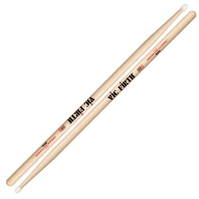 Vic Firth 8DN American Classic Nylon Tip 8D Drumsticks