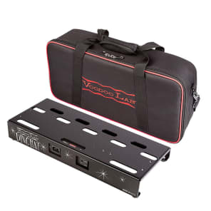Voodoo Lab Dingbat Small Pedalboard Power Package w/ Pedal Power 2 Plus, Gig Bag