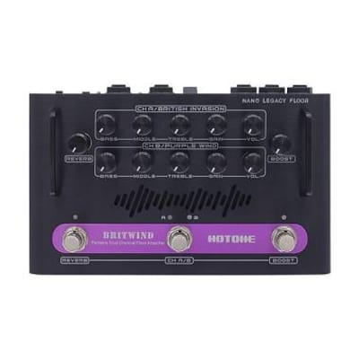 hotone britwind floor testata amplificatore  a pedale 75w  guitar  head for sale