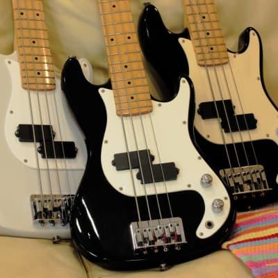 Super Rare SPLENDOR Mini Precision Bass 1970S Black Japanese Vintage. for sale