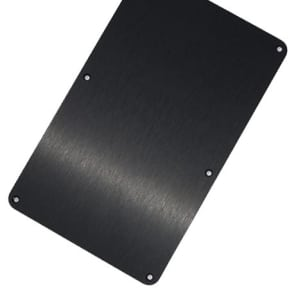 Jackson Anodized Aluminum Black Back Plate Floyd Rose Cover for USA Series