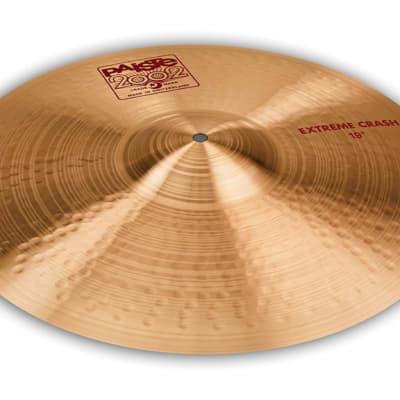Paiste 19 inch 2002 Extreme Crash Cymbal - 292338 - 697643116351