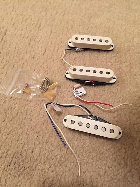 Fender American Standard Stratocaster Pickups 1997 White Reverb
