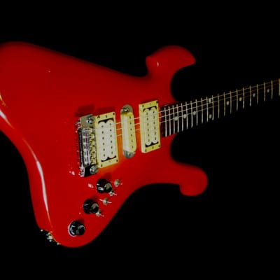 LADO Condor 1 1981 Crimson Red Burst. Very Rare. Only 100 made.  Handmade. High Quality. Superb Play for sale
