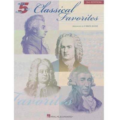 Classical Favorites (2nd Edition) - Five-Finger Piano
