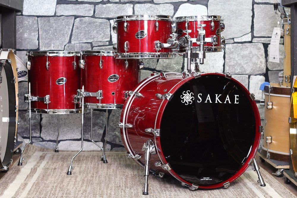 Sakae almighty birch 5 piece drum shell pack price drop for 14x12 floor tom