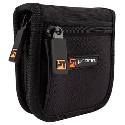 Protec Trumpet / Small Brass Mouthpiece Pouch – 2 Piece (Nylon) with Zipper Closure
