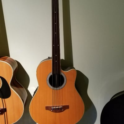 Applause AE 140 Fretless (mini upright???) 1990's Natural for sale