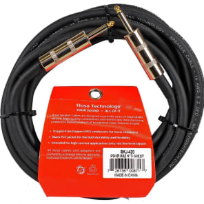 "Hosa SKJ-420 REAN 1/4"" TS to Same Edge Speaker Cable - 20'"