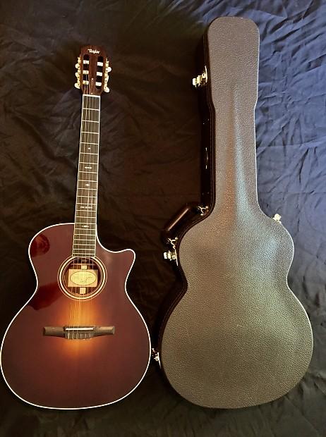 taylor 714ce n nylon string acoustic electric guitar 2013 reverb. Black Bedroom Furniture Sets. Home Design Ideas