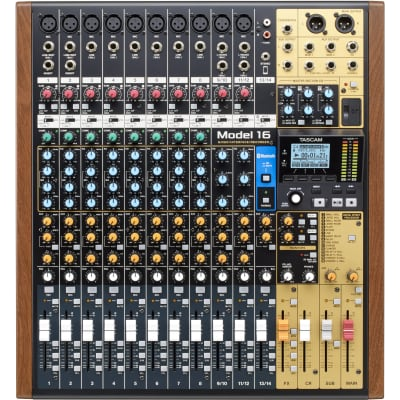 TASCAM Model 16 Multitrack Recorder / Mixer / Audio Interface