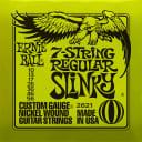 Ernie ball Slinky Nickelwound 7 String Regular Slinky Guitar Strings 10 - 56