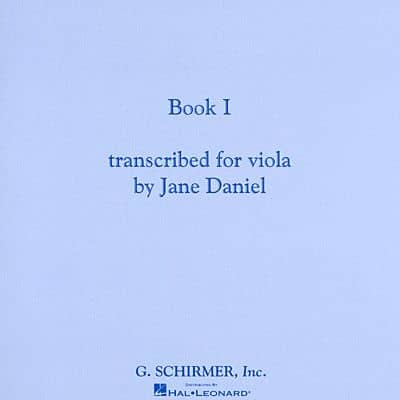 E.C. Schirmer Melodious Double Stops for Viola, Book 1 by Josephine Trott