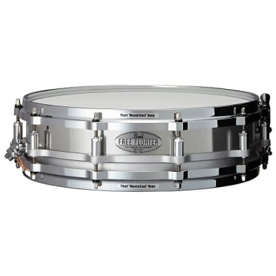 "Pearl FTSS1435 Free-Floating 14x3.5"" Stainless Steel Piccolo Snare Drum"