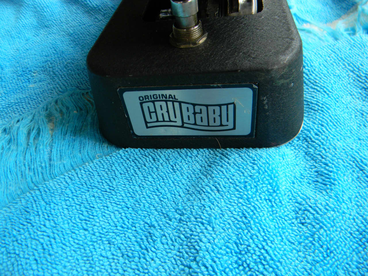 Dating a Dunlop Wah Pedal