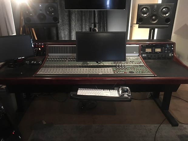 Kk Audio Custom D Command 24 Console Desk 2010 Cherry