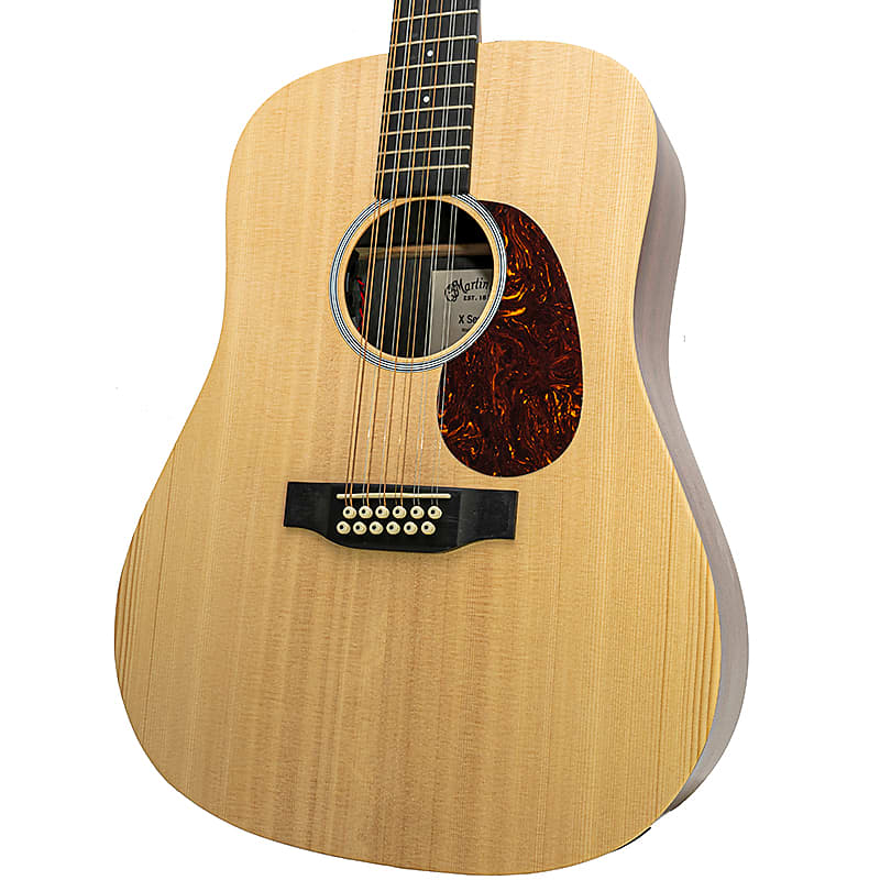brand new martin d12x1ae natural acoustic electric guitar reverb. Black Bedroom Furniture Sets. Home Design Ideas